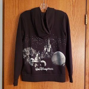 Brand New Disney Hoodie Sweatshirt Ladies Sz L
